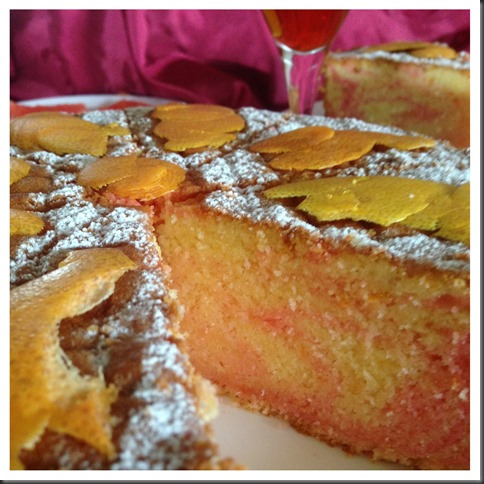One Number Baking Ratio Adventures Continues… Grapefruit Cognac Pound Cake With Grapefruit Posset…
