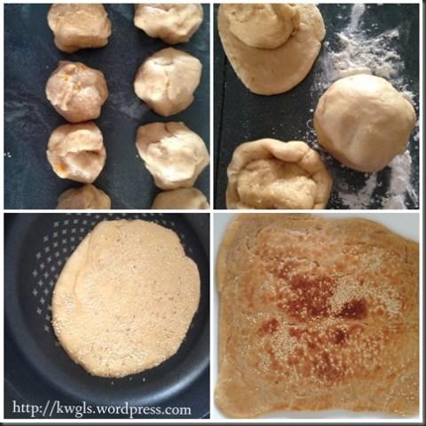 Re-Creating My Homesick Snack–Citrus Zested Kite Mooncake (风吹饼,风筝饼, 烘吹饼)