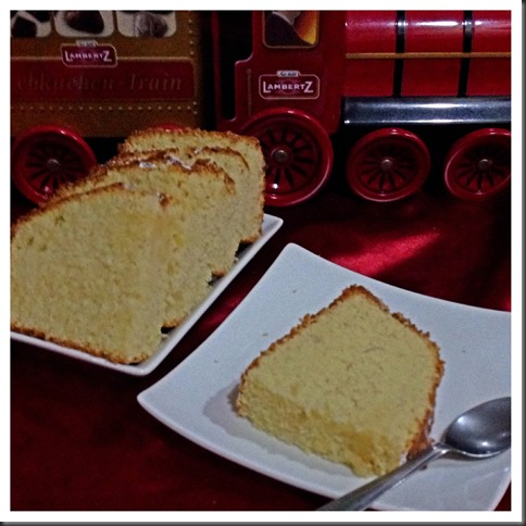 Sugee Almond Cake (Sugee 杏仁蛋糕)