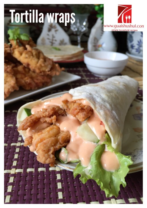 Another Copycat? – Mexicana Tortilla Wrap With Fried Chicken (烙饼炸鸡卷)