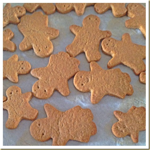 Gingerbread Man Biscuits (姜饼人)
