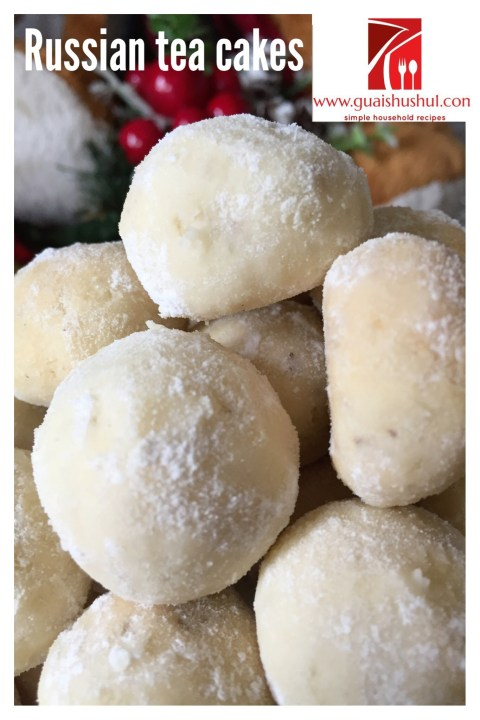 Macadamia Russian Tea Cakes (夏果俄罗斯茶饼)