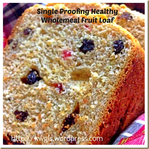 Healthy Fruit Loaf For This Christmas