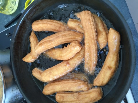 My Funny Shape Spanish You Tiao?–Churros
