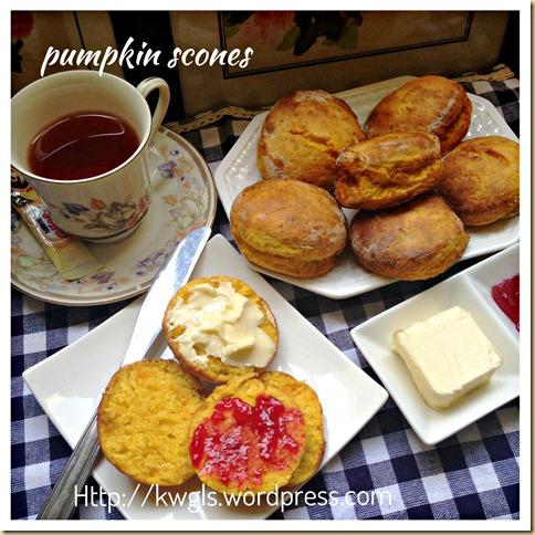 Pumpkin Scones (南瓜司康饼)