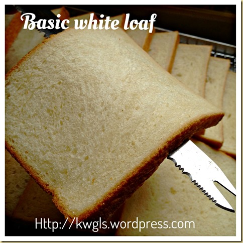 Basic White Loaf – Bread Bible Pullman Loaf Sandwich Bread (白吐司面包)