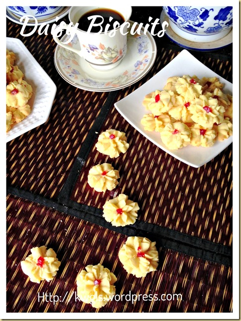 Old School Of Cookies That Bring Fond Memories– Daisy Biscuits, Biskuit Semperit, Biskuit Dahlia, 挤花饼干