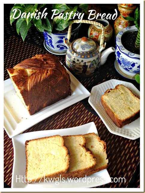 Unsure If It Is From Holland or Denmark &hellip ;. Danish Pastry Loaf (丹麦吐司条)And Fujisan Bread (富士山面包)