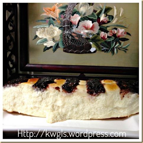 Blueberry Sweet Bread (蓝莓面包)