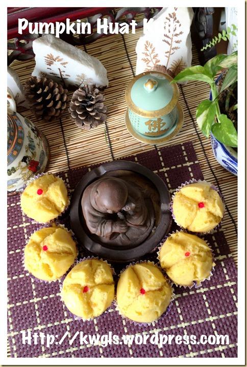 Pumpkin Huat Kuih (金瓜发糕)
