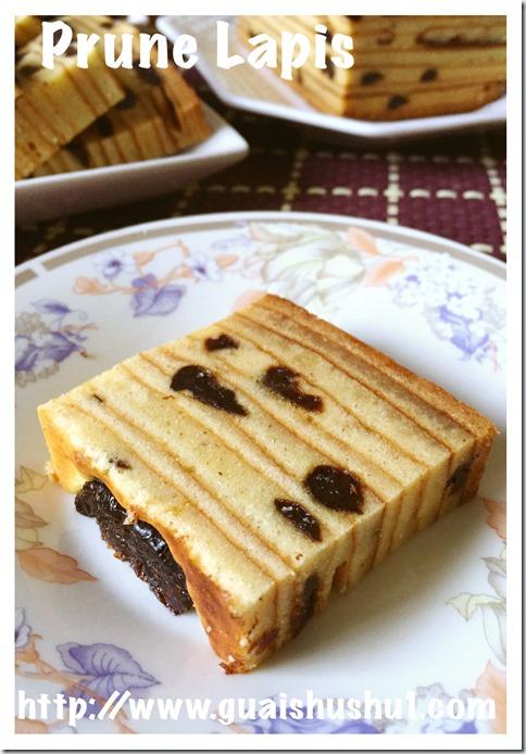 Prune Lapis (黑枣千层蛋糕)