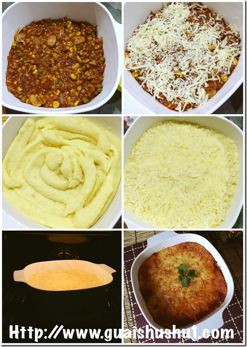 Classic Cottage or Shepherd Pie (牧羊人馅饼)