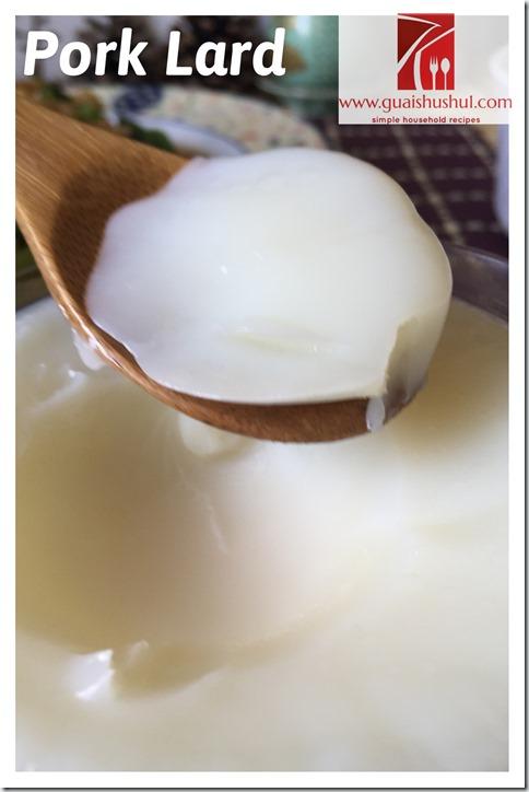 Homemade Lard–Water Boiling Method (水煮猪油)