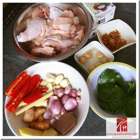 Nonya Kapitan Chicken Curry - Ayam Kapitan (甲必丹咖喱鸡)