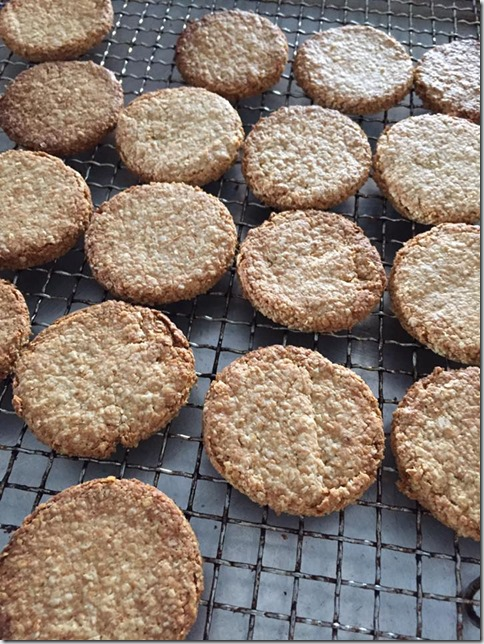 An Healthier Alternative : Oatcakes or Oatmeal Biscuits (燕麦饼干)