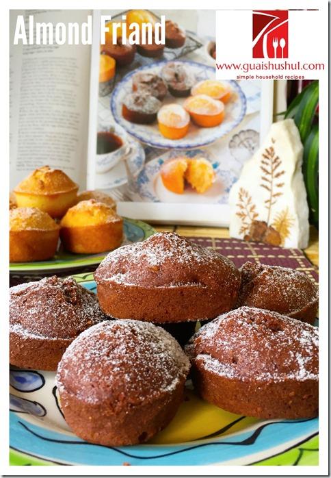 Classic French Almond Friands (杏仁费南雪)