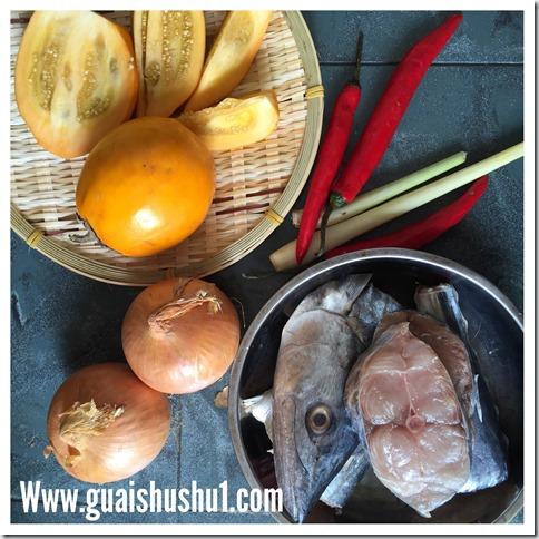Borneo Sour Brinjal aka Terung Dayak or Terong Assam