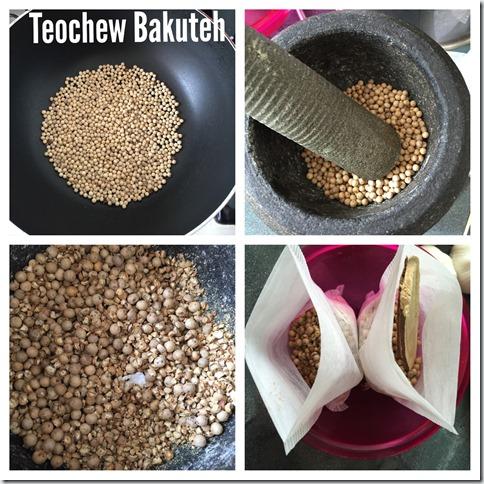 Singapore Style Teochew Peppery Bakuteh  aka Pork Rib Tea (新加玻潮式胡椒肉骨茶)