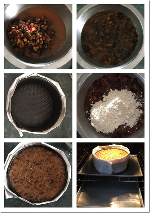 Eggless, Fatless 3 Ingredients Simple Fruit Cake (3 种食材简易杂果蛋糕)- RECIPE