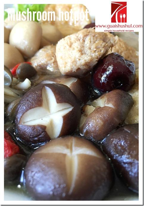 Mushroom Hotpot (菇菌素锅)
