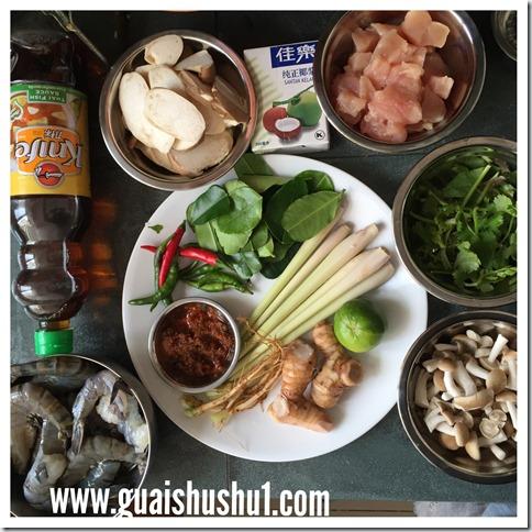 Classic Iconic Thai Prawn Soup–Tom Yum Goong (ต้มยำกุ้ง 冬荫功)
