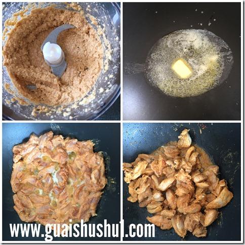 Famous Indian Cuisines : Butter Chicken aka Murgh Makhani( 印度奶油鸡 मुर्ग़ मक्खनी)