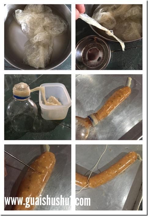 Homemade Chicken Sausage (家居自制鸡肉香肠)