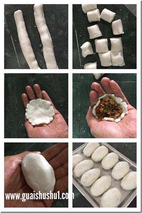 Dim Sum Series : Savoury Deep Fried Dumpling aka Ham Sui Gok (咸水饺/咸水角)