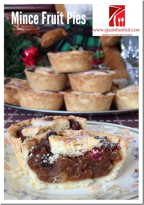 Classic Christmas Recipe: Minced Fruit Pies (圣诞杂果馅饼)