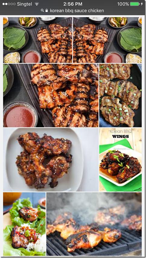 Korean BBQ Sauce Stewed Chicken Mid Wings (韩国烧烤酱鸡翼)