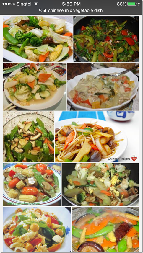 Classic Chinese Mixed Vegetable Dish aka Cha Chap Chye (中式炒什菜)