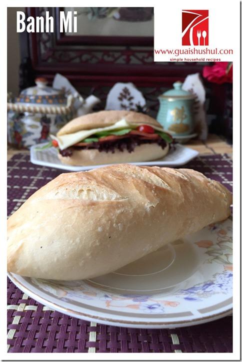 Vietnamese Baguette aka Bánh mì (越南法國麵包)