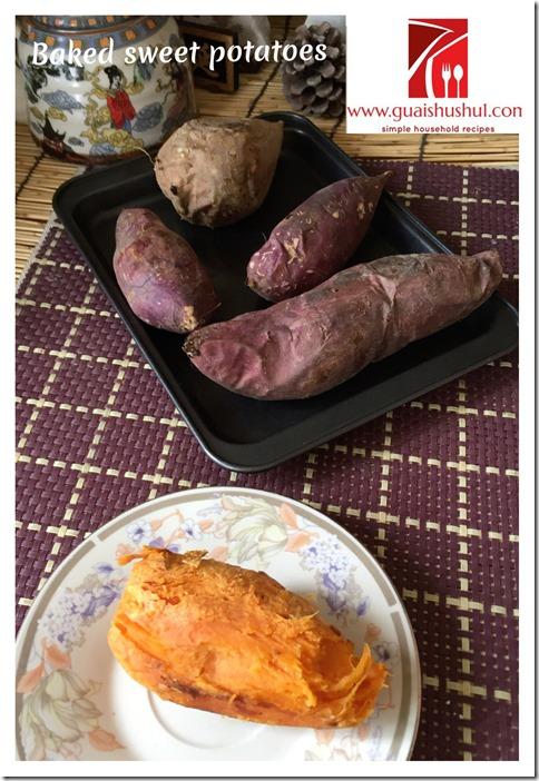 Classic Baked Sweet Potatoes (烤地瓜)