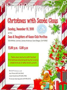 Children's Christmas with Santa Claus 12.16.18