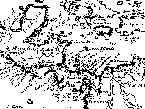Dampier Map