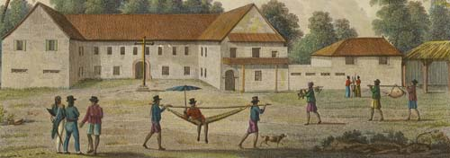 Colegio de San Juan de Letrán, an illustration of caste and possibly the Spanish Forzado System. Courtesy of the Guam Public Library System.