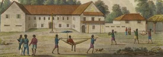 Colegio de San Juan de Letrán, an illustration of caste and possibly the Spanish Forzado System. Courtesy of the Guam Public Library System.
