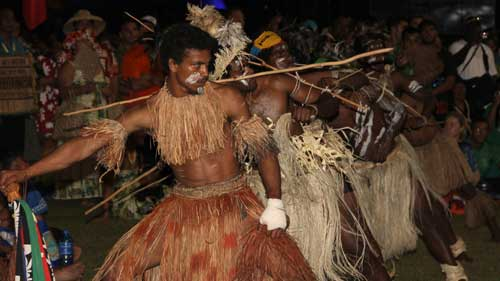 New Caledonia performance at FestPac 2012 Solomon Islands. Photo by Ron J. Castro.