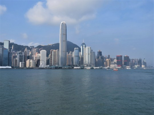 View South from Kowloon