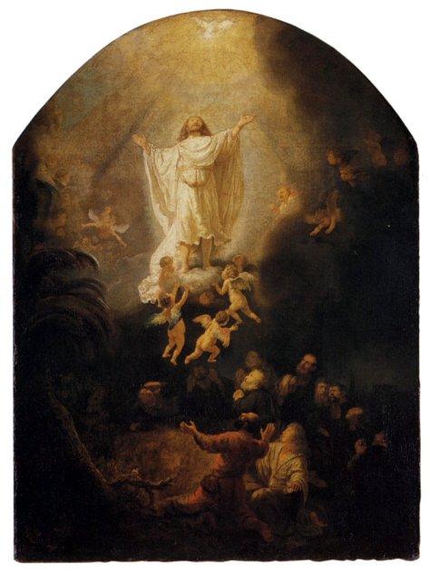 Rembrandt, Ascensione, 1636, Monaco