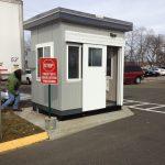 Bic Corp-Security Guard Booth-6 x 8-sliding door