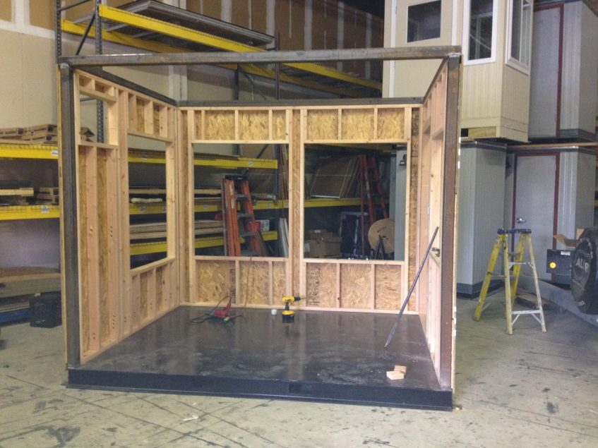 Guard Booth Structural steel