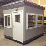 8 x 10 Guard Booth-Security Booth-Walmart Distribution Center