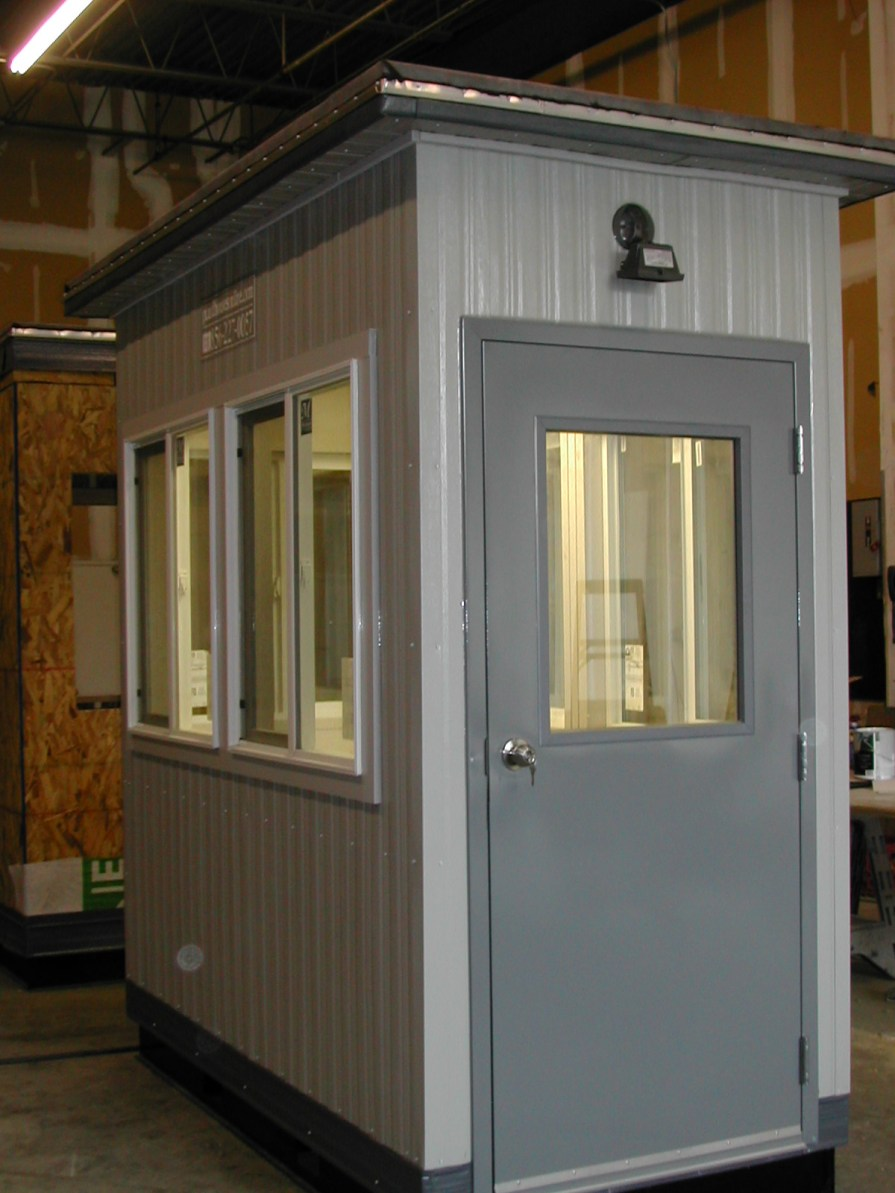 4 x 8 Guard Booth-Plan A-Upgrades