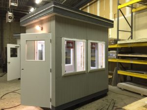 6 x 8 Guard Booth-Plan A- Verona Model