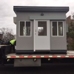 Samsung-Chasco-Security Guard Booth-6 x 10-Loaded for delivery