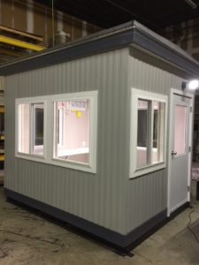 8 x 10 Operator Booth-E & L Construction