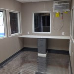 8 x 12 Guard Booth-Plan A-Interior