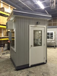 6 x 6 Guard Booth with upgrades