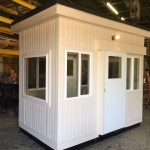 6 x 10 Guard Booth- (2) sliding doors